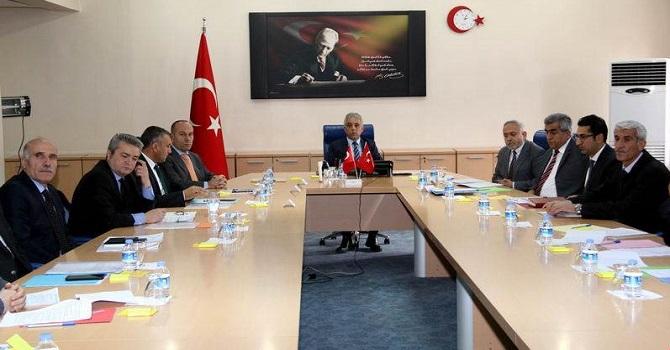 Hakkari il yatırım komitesi ilk toplantısını gerçekleştirdi