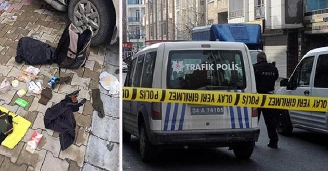 Esenyurt'ta arama yapmak isteyen polise ateş açıldı