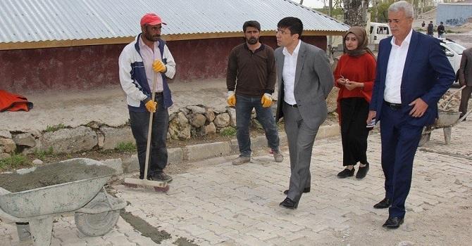 Başkale Belediyesinin Çalışmaları devam ediyor