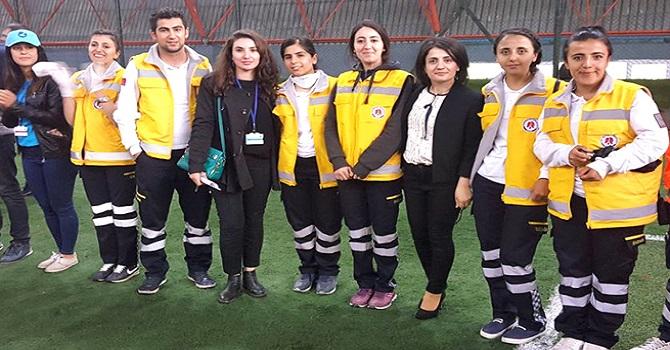 """Hakkari Üniversitesi """"Bölgesel Üni-Ralli"""" Yarışmasına Katıldı"""