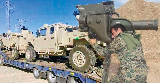 ABD, DSG'ye ısı güdümlü füze ve zırhlı araç gönderdi