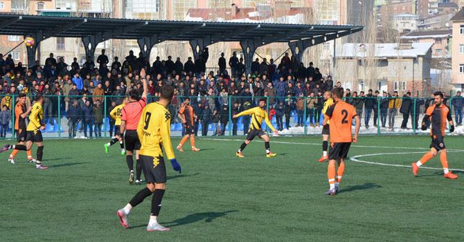 Hakkarispor Diyarbakır Yolspor'u 2-1 yendi