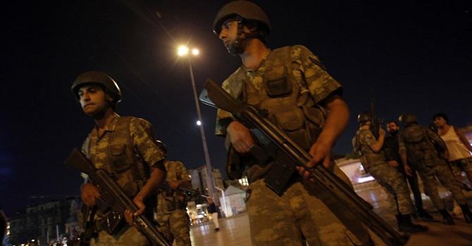 Sabiha Gökçen darbe davasında yargılanan askerler El Bab'da operasyonda