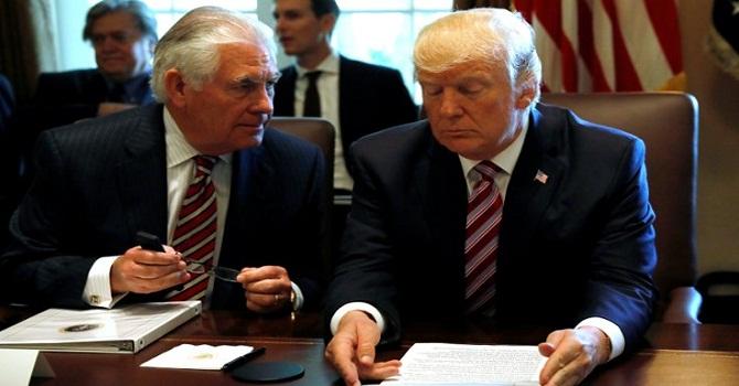 Tillerson ABD Dışişleri'nden kovuldu