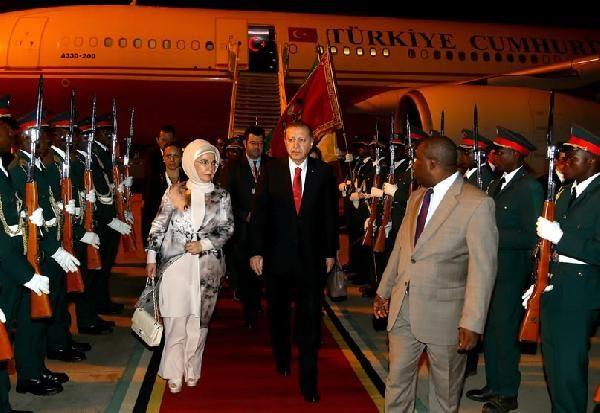 Cumhurbaşkanı Erdoğan, Mozambik'te konuştu