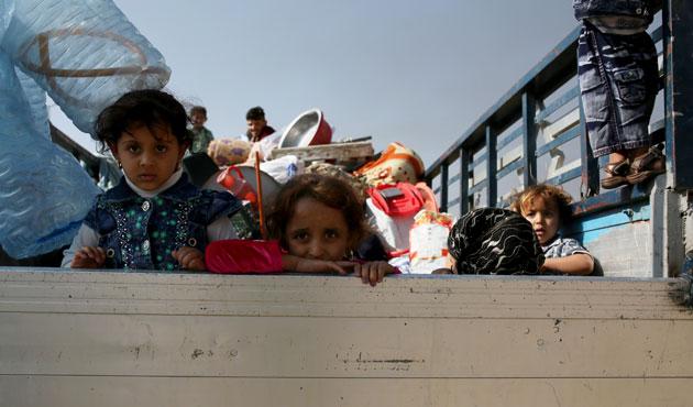 750.000 sivil, militanların kontrolündeki bölgelerde