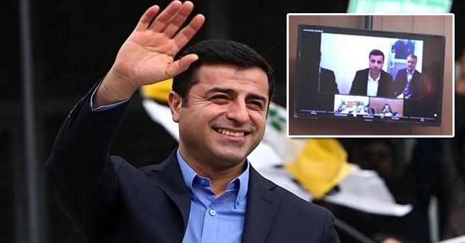 HDP Lideri Selahattin Demirtaş SEGBİS'le ifade verdi: Bu savcıları araştırın