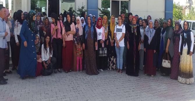 'Berivanın umudu' katılımcıları süt işletme tesisini gezdi