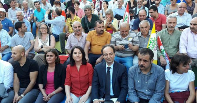 HDP'den deklarasyon: Durmayalım, dur diyelim