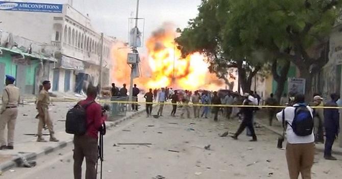 El Şebab örgütü otele saldırdı: 14 ölü, 25 yaralı