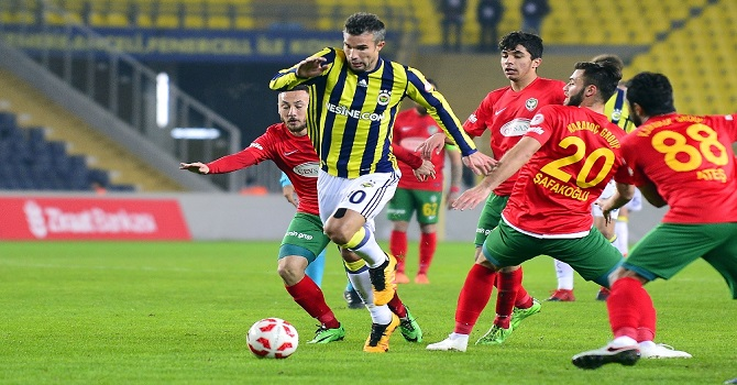 Fenerbahçe: 3 - Amed Sportif Faaliyetler: 0