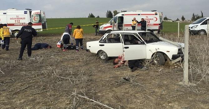 Kalaşnikof'la vurulmuş 3 ceset bulundu