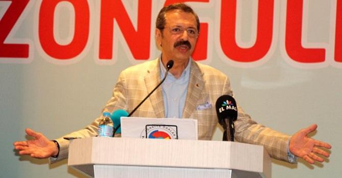 TOBB Başkanı Hisarcıklıoğlu: Piyasa yavaşladı, para dönmüyor