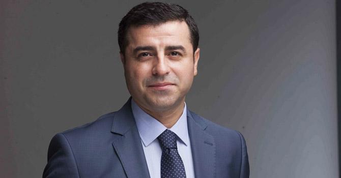 HDP Eş Başkanı Demirtaş'tan 10 Ekim mesajı