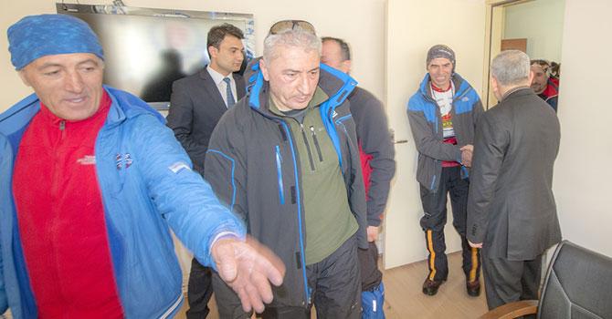Dağcılardan Rektör Pakiş'e ziyaret
