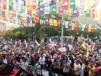 HDP Van'da 'Vicdan ve Adalet Mitingi' düzenledi