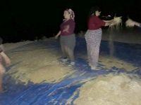 Çukurca'da Kadınlar gece mesaisinde!