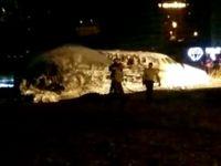 Atatürk Havalimanı'nda uçak düştü
