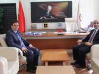Yeni Vali Yardımcısı Karaman'dan Durgun'a ziyaret