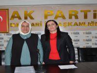 Hakkari Ak Parti kadın kollarında devir teslim