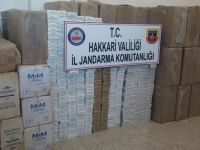 Yüksekova'da 50 bin paket kaçak sigara ele geçirildi