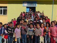 Yüksekova'da çocuk büro ve TDP bürosundan okul ziyareti