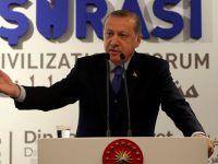 Erdoğan: ABD'de teröristlere bizi dövdürüyorlar