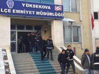 Yüksekova'da operasyon: 15 kişi gözaltına alındı
