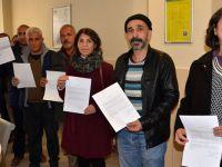 Hakkari'deki KESK'lilerden Başbakanlığa faks