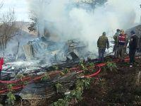 Kahreden haber! Köydeki yangında 3 çocuk öldü