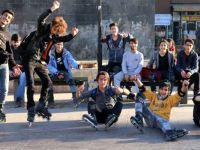 Diyarbakır'ın patenci gençleri