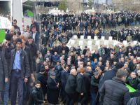 Hamdullah Çallı binlerce kişi tarafından toprağa verildi