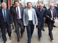 AK Parti Hakkari İl Başkanı Gür'den Yüksekova'ya Ziyaret