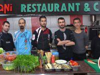 Hakkari'de bir ilk cafe restoran bir arada