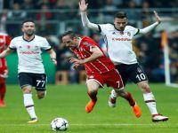 Beşiktaş, Şampiyonlar ligine veda etti