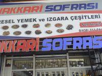 Damak tadı ev yemekleri Hakkari Sofrası'nda