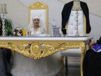 Erdoğan'a hakaretten tutuklanan damadın düğünü kendisi olmadan yapıldı