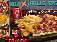 Hakkari'nin tek Pizzacısı, Maxsimus Pizza yeni kampanyalarla şaşırtmaya devam ediyor