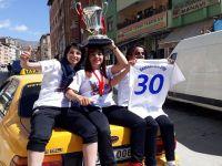 Hakkari Kadın Futbol takımın 1. Lig Sevinci