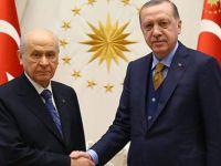 Kritik Erdoğan-Bahçeli görüşmesi sona erdi