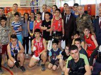 Hakkari'de MUAY THAİ il birinciliği şampiyonası düzenlendi
