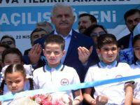 Yıldırım'dan 'son başbakan' konuşması