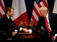 Macron'dan ABD gezisi öncesi Trump'a çağrı