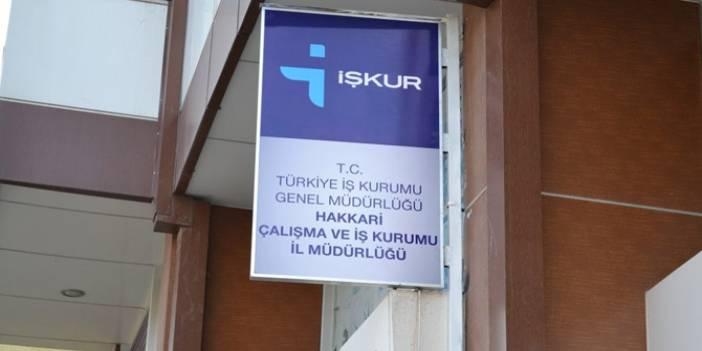İŞ- KUR Hakkari'de 446 kişiyi işe alacak!