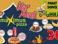 Hakkari'nin tek Pizzacısı, Maxsimus Pizza İftar menüsü!