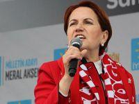 Akşener: Davutoğlu veya Babacan isterse 20 milletvekili veririm