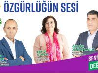 HDP Hakkari adaylarının bayram mesajları