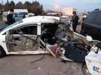 Silopi'de kaza: 2 ölü, 2 yaralı