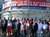 Hakkari'de 25 amatör spor kulübüne çek dağıtıldı