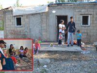 Yüksekova'da Tek gözlü odada 14 kişi yaşıyor